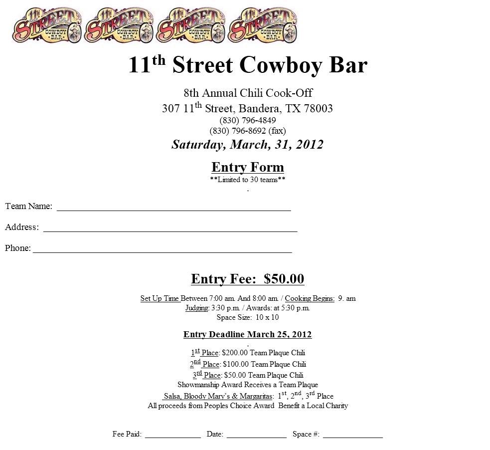 11th Street Cowboy Bar - The Biggest Little Bar In Texas, serving ...